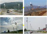100W 12V Dach eingehangener vertikaler Mittellinien-Wind-Generator