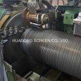 Het Element van de filter van het Element van de Filter van de Apparatuur van de Filter van de Behandeling van afvalwater/van de Gloeidraad van de Wig van het Roestvrij staal