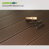 Le WPC Decking Composite Flooring-Wood de plein air en plastique