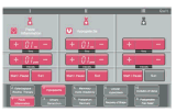 2017 La recuperación posparto médicos Panel de control de la pantalla táctil de la máquina