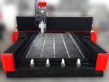 Madera del vector y máquina de grabado de aluminio de la piedra