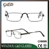 Diseño de Moda Gafas gafas de lectura de Metal Marco óptica gafas