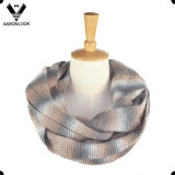 2016 Trendy Winter Space Dyed Yarn Knitted 3PCS Set Scarf Hat Glove