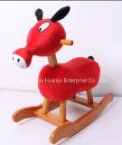 Nueva fuente de la fábrica del diseño que oscila el eje de balancín Animal-De madera del burro
