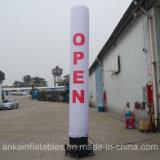 Pilier gonflable de tube d'éclairage estampé par Digitals de la Chine pour l'usage d'intérieur extérieur