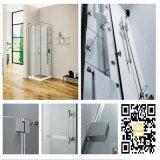 현대 디자인 샤워실 스테인리스 기계설비 이음쇠 목욕탕 유리제 문 죔쇠