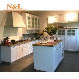 N & L Classic MDF Cabinet de cuisine en PVC blanc