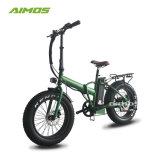 ねじれのスロットが付いている20inch良質の脂肪質のタイヤの電気自転車