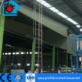 Stahlkonstruktion-Mezzanin-Fußboden-Rahmen mit galvanisierter Fußboden-Metallplattform
