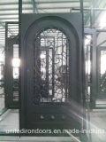 Puerta de acero directa del hierro de la fábrica superventas 2017