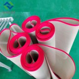 Nicht giftiges PTFE teflonüberzogenes Fiberglas-Ineinander greifen-Förderband