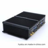 Low Power 12V Mini Itx 1037u Industrial PC DDR3 / DDR3l