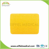 Vendaje cohesivo impreso aduana no tejido auto-adhesivo del cuidado médico