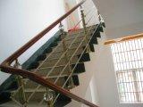 Main courante de la ss balustrade en bois pour escalier en bois