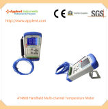 Instrumento de medição Multi-Channel Handheld da temperatura (AT4808)