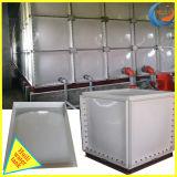 Corte transversal GRP do tanque de armazenagem de água de fibra de vidro para combate a incêndio e a Agricultura