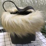 Nuovo sacchetto di spalla della ragazza della signora Bag Woman Bucket Bag della pelliccia di disegno dalla fabbrica Sh190 della Cina