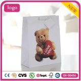 Valentinstag wenig Bären-Kaffee-Schokoladen-System-Geschenk-Papiertüten