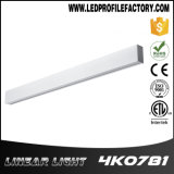 Luz moderna do pendente do diodo emissor de luz da luz elevada linear do louro do diodo emissor de luz