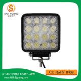 Luz 48W 12V 24V del trabajo del automóvil LED 4 pulgadas para el trabajo de los carros