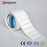 Etiqueta elegante pasiva de la etiqueta engomada 860MHz-960MHz RFID de la frecuencia ultraelevada de la impresión extranjera de la insignia H4
