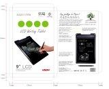 Tablette d'écriture de transmission d'affichage à cristaux liquides certifiée par ce avec la fonction de blocage