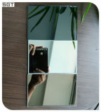 specchio indurito grigio di 6mm Mirastar Temperable per Mirrorred Splashback