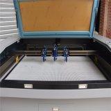刺繍の切断(JM-1610-3T)のための3つのヘッドレーザーCutting&Engraving機械