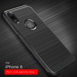 Nieuw Creatief Shell van de Telefoon van de Zijde van de Tekening van het Silicone TPU Geval voor iPhone 8