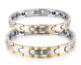 2017 amanti magnetici superiori Bracelet&Bangles migliore Gfits di affaticamento dell'acciaio inossidabile di sanità dei monili delle donne & degli uomini anti