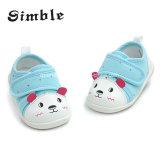 最新の方法かわいい卸し売り柔らかいキャンバスの赤ん坊靴