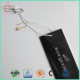 Spilla di sicurezza bianca a forma di pera verniciata metallo di colori del commercio all'ingrosso 22mm per il mestiere
