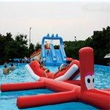 Giocattolo gonfiabile dell'acqua per il serpente di acqua di galleggiamento gonfiabile della sosta dell'acqua