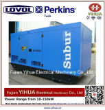 gerador 40kw/50kVA silencioso Diesel com Ce Approval-20170829b do motor de Lovol-Perkins