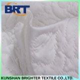 Cubierta de colchón impermeable de la linterna de la pongis blanca del poliester