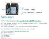 256 GB Msata meia unidade de disco rígido SSD Ultrabook interno da China Fabricantes