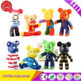 Figura bella giocattoli del vinile del PVC dell'orso
