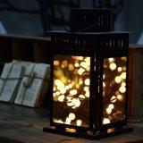 خيط ساحر يصمّم أضواء زخرفيّة مع 72 بصيلة [كبّر وير] كرة أرضيّة [فيري ليغت] لأنّ عيد ميلاد المسيح عطلة