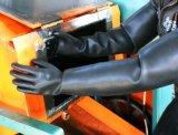 Очень длинные резиновые для тяжелого режима работы химической безопасности устойчивые рабочие перчатки