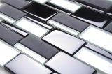 Banda decorativa 12x12 Padrão Internacional Pequenas Misturar Mosaico mosaico preto