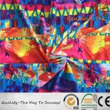 Tessuto lavorato a maglia poliestere stampato Digitahi/tessuto stampato del costume da bagno di stirata