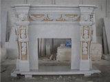 Гранита мрамора песчаник известняк камином печь резного Mantel