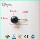 マップのための黒い丸いボールのプラスチックヘッドマーキングPin