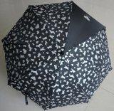 Зонтик способа оптовых деталей дождя Sun выдвиженческих прямой с печатание