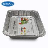 [رسكلبل] [ألومينيوم فويل] وعاء صندوق لأنّ طعام ([غس-ف4307])