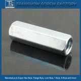 1/4-7/8 galvanisierte fertige lange Stahlsechskantmuttern
