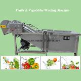 Máquina de processamento de lavagem da limpeza da arruela da fruta vegetal Multifunctional (WSQP)