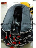 판매를 위한 150n/275n 자동 및 수동 내오프렌 팽창식 구명 재킷