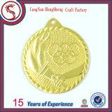 подгонянное 3D идущее медаль металла