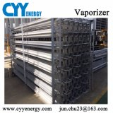 Vaporizzatore ambientale gas-aria dell'AR del liquido del N2 industriale dell'O2